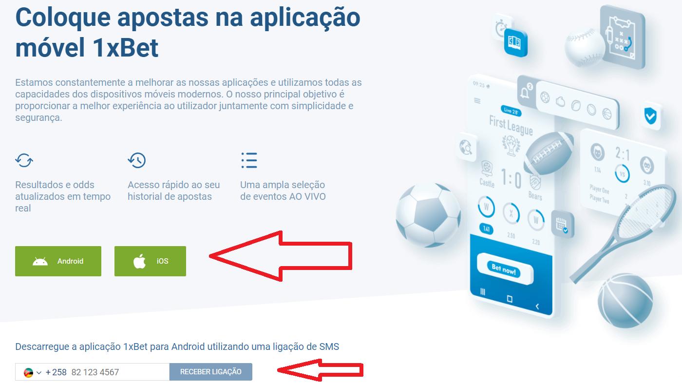 1xBet online site casa de apostas - linhas e probabilidades